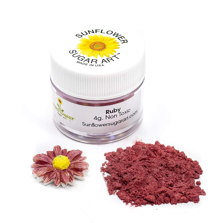 Ruby Edible Luster Dust Lust Powder Food 5 popular Long Beach Mall Grade