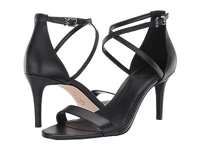 MICHAEL Michael Kors Ava Mid Sandal (Black) Women