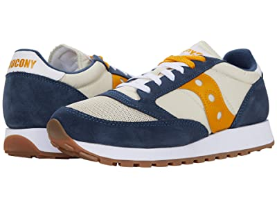 Saucony Originals Jazz Original Vintage (Denim/Tapioca/Curry) Men