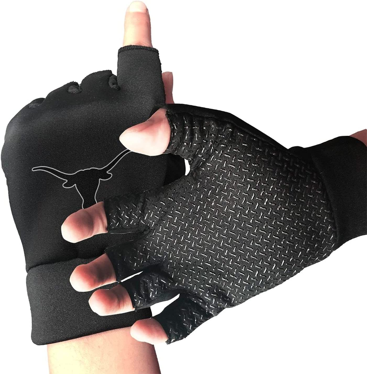 Longhorns Design Today's only Art Sports Gloves Exercise San Diego Mall Suitable for Unisex
