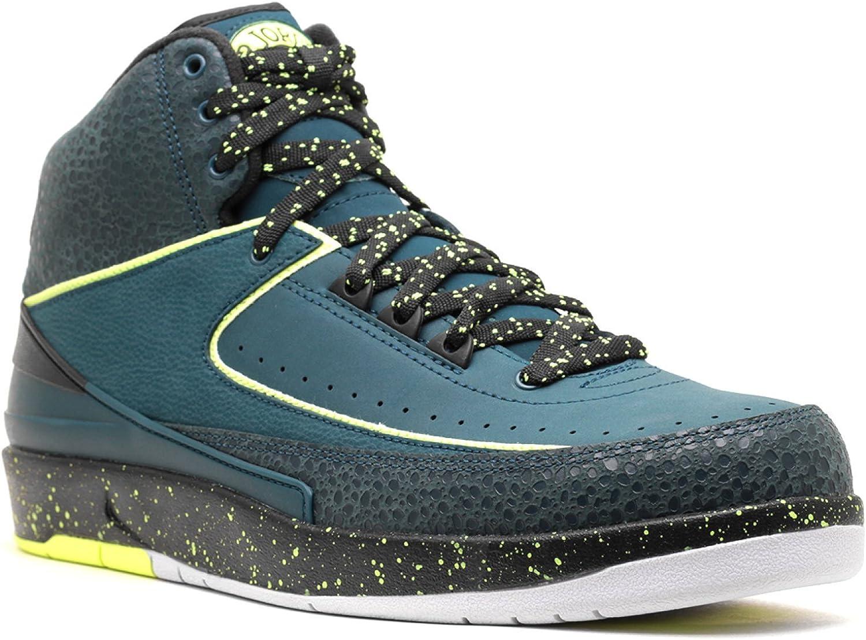 Nike Air Jordan 2 Retro Nachtschattengewächse Leder