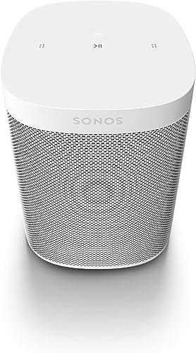 Sonos | One SL Altavoz Inteligente Sin Micrófonos, Multiroom y Streaming WiFi, Control App Sonos Controller, Compatib...