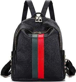 Fashion Backpack For Women PU Leather Travel Handbag Daypack Casual Rucksack Zipper Shoulder Bag Purse