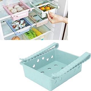 Cryfokt Organisateurs de réfrigérateur, bacs de Rangement pour réfrigérateur Solides et légers, Type de tiroir pour armoir...