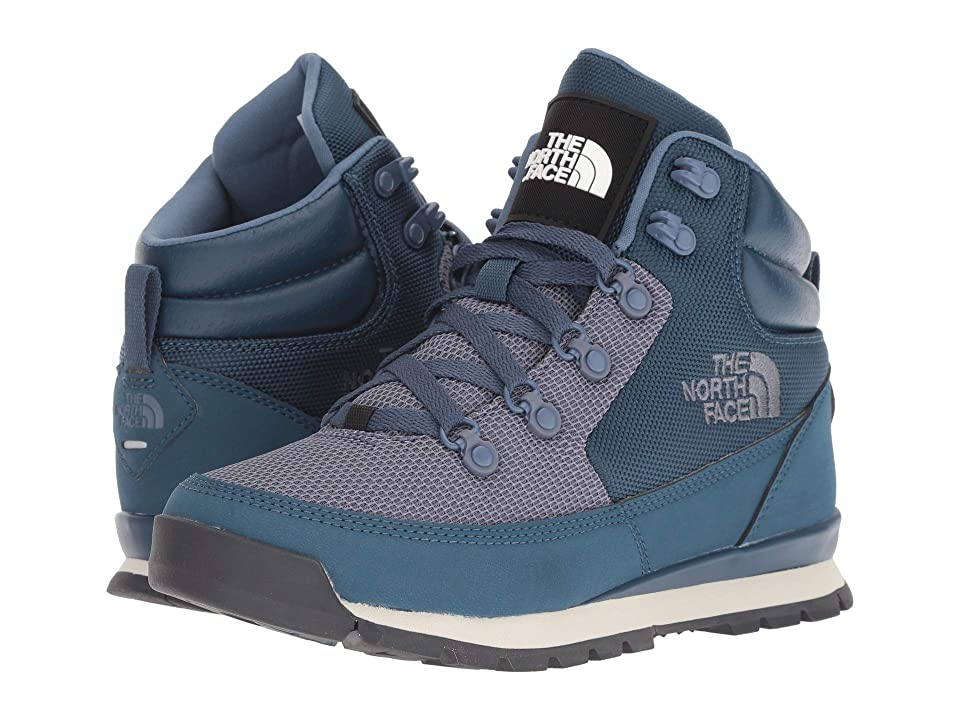 The North Face Back-To-Berkeley Redux Remtlz Mesh (Blue Wing Teal Grisaille  Grey) Women s Shoes 5043c198c0315