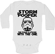 Little Royaltee Funny Boys Rompers Storm Pooper Cute Kids Bodysuits Shirts