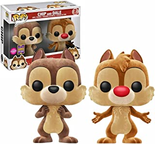 Chip and Dale Flocked San Diego Comic-Con 2017