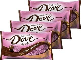 dove milk chocolate hearts
