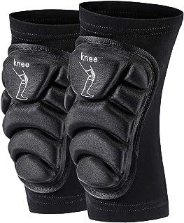 Motorcycle Knee Pads Guard Warmers Knee Protector Leg Rug Knee Guard Protector Skiing Motorbike Ridng Knee Slider SULAITE...