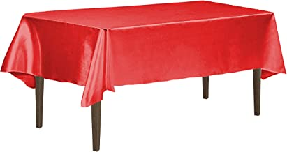 LinenTablecloth 126 Inch Rectangular Satin Tablecloth