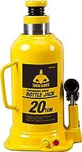 Torin JackBoss Hydraulic Welded Bottle Jack: 20 Ton Capacity