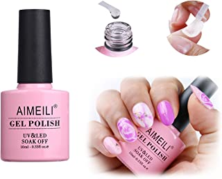 AIMEILI Soak Off UV LED Blossom Gel Nail Polish - Clear Blooming 10ml