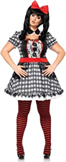 Plus Size Darling Babydoll Costume, Plus Size Sexy Doll Costume