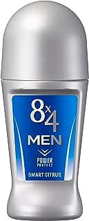 8x4メン ロールオン スマートシトラス 60ml 男性用 制汗剤 デオドラント
