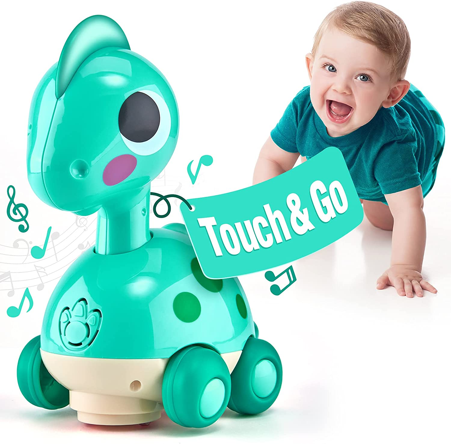CubicFun Baby Toys 6 to 12 Touch Months Cr Music Go Great interest Max 74% OFF Light