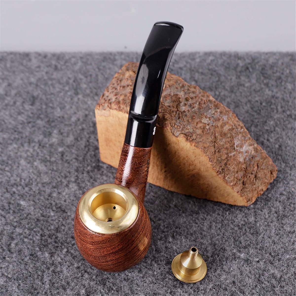 BILXXY Detachable Tobacco Smoking P Wooden Pipe Time sale Regular store