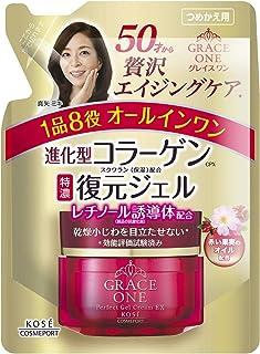 KOSE 高丝 Grace One 一体化 浓润修复啫喱 EX 替换装 90g