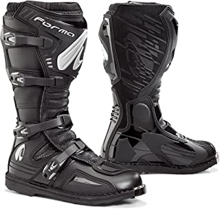 Forma Terrain EVO Off-Road MX Motorcycle Boots (Black, Size 5 US/Size 39 Euro)