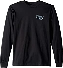 Full Patch Back Long Sleeve Tee (Big Kids)