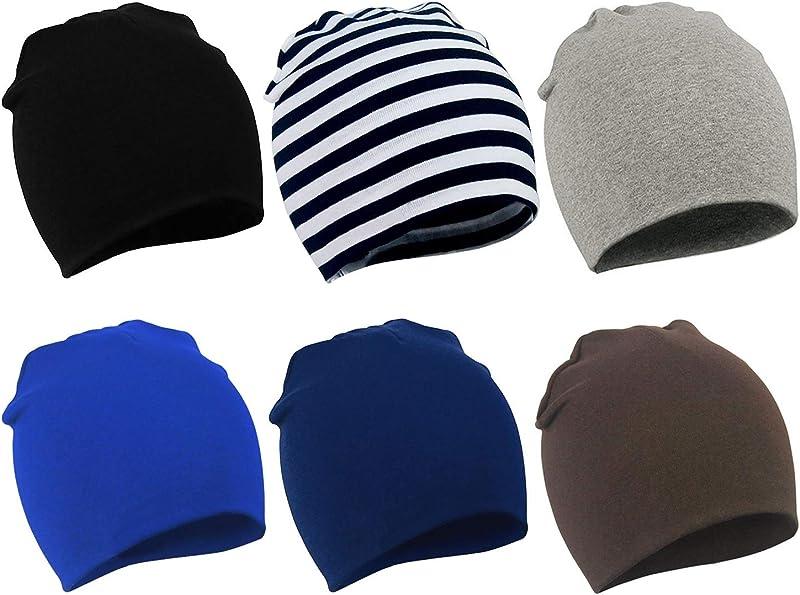 Zando Toddler Baby Beanies Hat For Baby Girls Cotton Knit Beanie Baby Boy Cap
