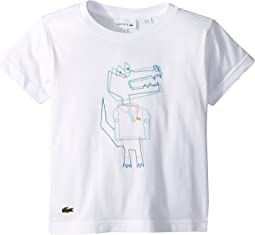 Short Sleeve Jersey Crocoline Print T-Shirt (Toddler/Little Kids/Big Kids)