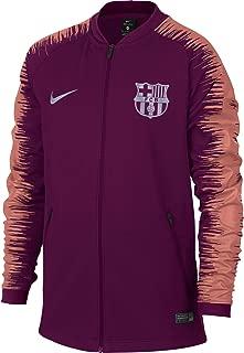 2018-2019 Barcelona Anthem Jacket (Deep Maroon) - Kids