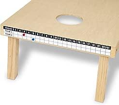 GoSports Premium Cornhole Scoreboard with Magnetic Score Keepers - Mounts to Any Cornhole Board