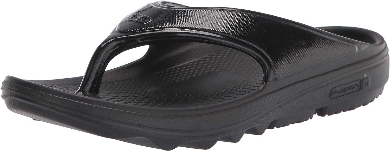 Spenco Men's Flip-Flop, Black, 13