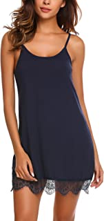 Avidlove Sexy Sleepwear Womens Chemise Nightgown Lace Babydoll Nightdress Sleep Cami Dress
