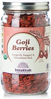 Imlak'esh Organics Goji Berries, 12-Ounce Jar
