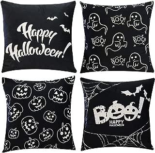 glow in the dark halloween pillowcase
