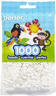 Best Perler Beads Fuse Beads for Crafts, 1000pcs, White Reviews