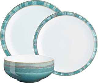 Denby (AZC-12PC) Azure Coast 12-Piece Dinnerware Set