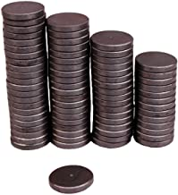 Creative Hobbies Ceramic Industrial Magnets - 1 Inch (25mm) Round Disc - Ferrite Magnets Bulk for Crafts, Science, Refrigerator or Whiteboard - 25 Piece Pack