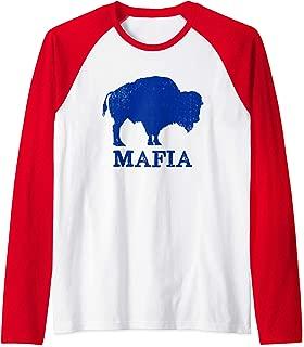 Bills Mafia 716 Buffalo New York BFLO WNY T-Shirt Raglan Baseball Tee