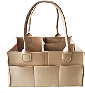 حقيبة حفاضات الأطفال المحمولة من كادي مزودة بجزء لتغيير الحفاضات وحجيرات لتخزين ألعاب ولوازم الأطفال