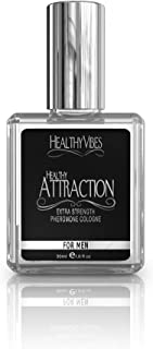 Healthy Attraction Extra Strength Pheromone Oil Infused Cologne for Men – Made with..