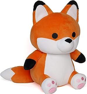 Avocatt Orange Red Fox Plush - 10 Inches Stuffed Animal Plushie - Hug and Cuddle with Squishy Soft Fabric and Stuffing - C...