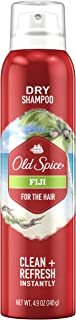 Old Spice Fiji Men's Dry Shampoo for the Hair, 4.9 fl oz (Pack of 12)