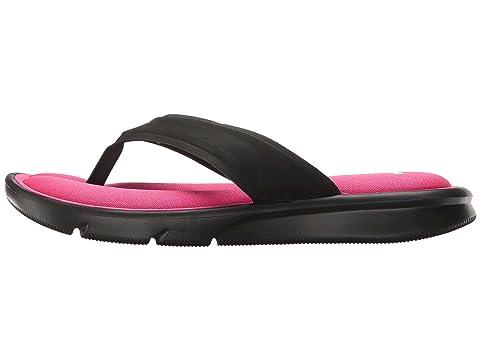 Footaction Cheap Online Genuine Cheap Price Nike Ultra Comfort Thong Black/Vivid Pink/White Discount 100% Original fSqLRC