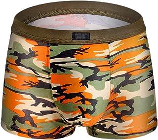 Men Breathable Comfortable Cotton Sports Underwear Boxer Briefs