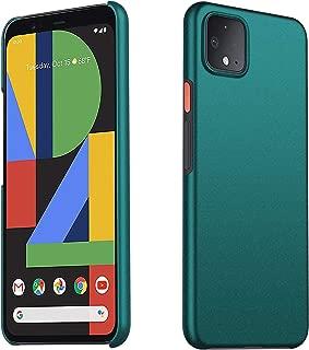 Kqimi Case for Google Pixel 4 [Ultra-Thin] Premium Material Slim Full Protection Cover for Google Pixel 4 (Gravel Green)