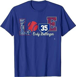 Cody Bellinger Love Player T-Shirt - Apparel