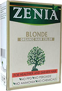 Sponsored Ad - Zenia Organic Henna Hair Color Blonde 100g