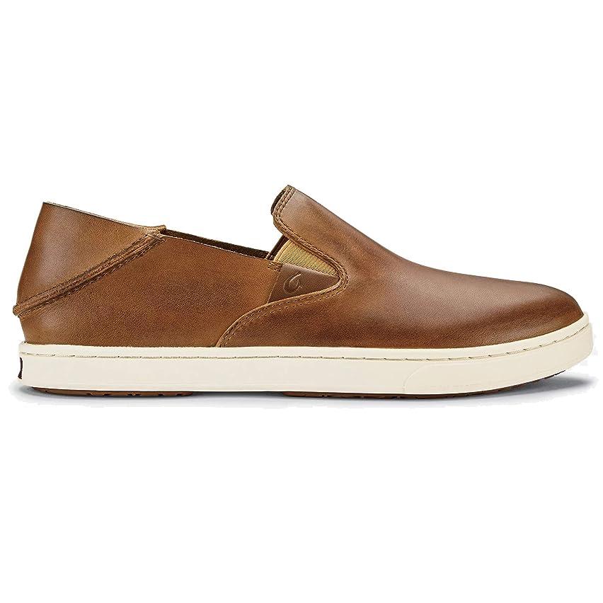 Olukai Women's Nalukai Leather Shoes, Fox/Fox, 7