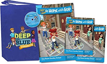 Deep Blue Connects At Home With God One Room Sunday School Kit Spring 2019: Ages 3-12