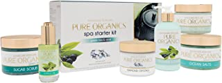 pure organics spa starter kit