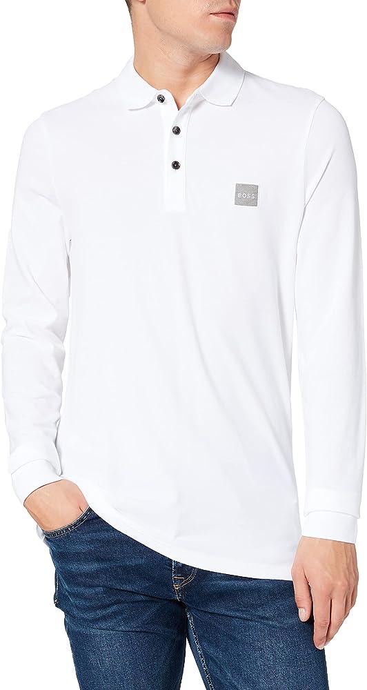 Hugo boss polo maglietta da uomo 97% cotone 3% elastan 50462783A