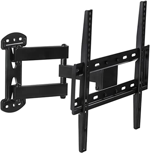 Mount-It! TV Wall Mount Full Motion | Large TV Low Profile Mounting Bracket | Tilt and Swivel Articulating TV Wall Mo...