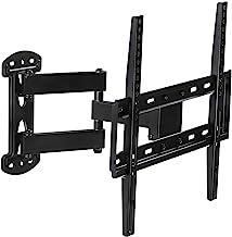 Mount-It! Full Motion TV Wall Mount Corner Bracket, VESA 400 x 400 Compatible, Extending..